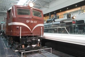 Two JNR Express Engines by rlkitterman