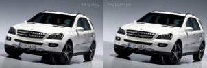 Mercedes ML facelift by 5-G