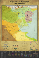 Equestria Divided: Map of Equestria (workbench) by TheArchivist101
