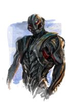 Marvel : Ultron by Beriuos