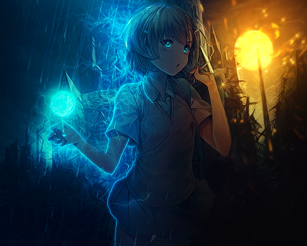 Misaka Mikoto - Electric Ball V2 by YugataKisu