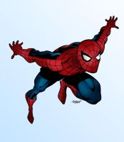Spider-Man Colored by zulu94