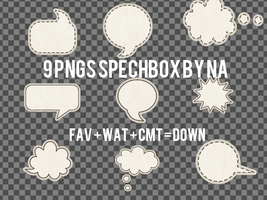 [Spech box] 9 png spechbox by Na by Na-Designer