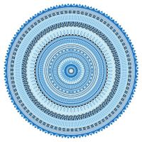 Blue Mandala by sdwhaven