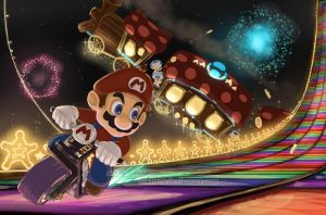 100 Theme Challenge - 003 (Light) Mario Kart by inkhana