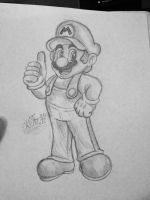 Super Mario S.(1) by Skettche