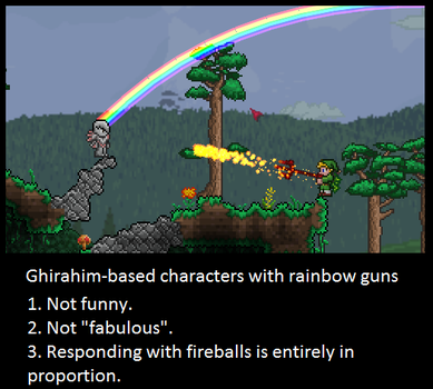 No, Alex. Just No. Terraria Players. by LittlewriterLink