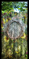Weathered Wreath by Artzmakerz