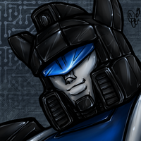 TF - Jazz FACE by BLACK-HEART-SPIRAL