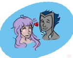 Caz and Shimo by GennaSarah