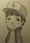 Dipper Pines by Animallol