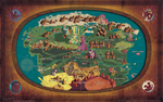 Equestria Map - 24X36 - welovefineprint by hinoraito