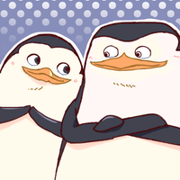 Skipper and Private- The Penguins of Madagascar by skivategg