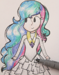 Celestia Doodle!~ by Teacharms