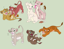 Cheap lion cubs by HappyDucklings