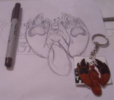 SKG Keychain by Songficcer