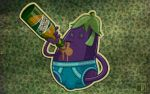 eggplant drink by spundman