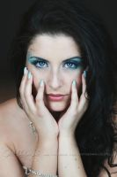 Ice Blue Eyes by Estelle-Photographie