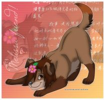 Melissa_gift_for_pukydog_X3 by Karolykan