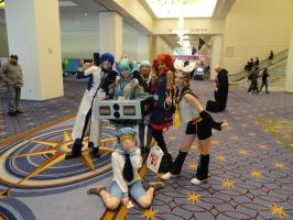 My Vocaloid group (+ Sealand) by VampireFreakism