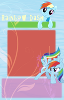 Rainbow Dash Journal Skin by alem22