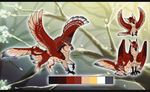 Falcon Gryphon /Auction//CLOSED by Belliko-art