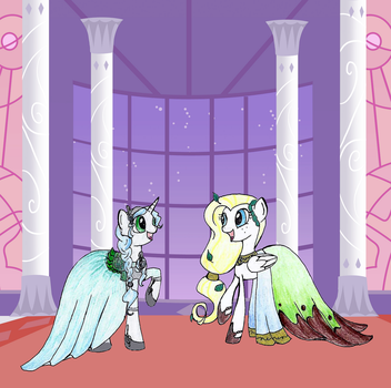 At the Gala by ElfGift