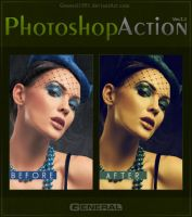 Photoshop Action Ver. 3.1 by General1991