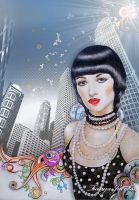 city girl by tanya-and-coffee