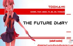 Mirai Nikki (Future Diary) Should be on Toonami by CreativeArtist-Kenta