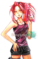 Songkran 2013 by xenonace