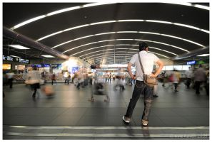 Kyoto Station by escape-is-at-hand