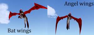2 wing textures for free c: by Forests-FH
