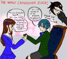 The Worst Crossover EVER by GayMenDancing