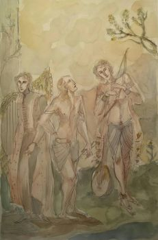 The Three Musicians by Cassiuseos