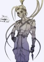 Ibuki - Street Fighter by BlitzJaeger