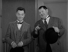 Laurel and Hardy by slr1238