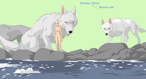 princess mononoke river base by Destinys-Heart