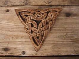 Celtic Knot Wall Hanging by shalonpalmer