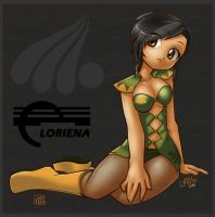Loriena collab by freelancemanga