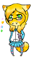 Jenny chibi anthro Offer to Adopt :OPEN: by Angrykarkat25