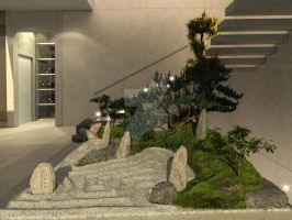 japanesegarden by DARKDOWDEVIL