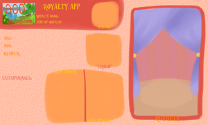 AoO Royalty App Blank by Arcky-Cano