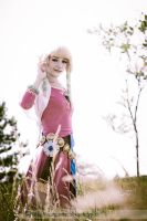 Dreaming of Zelda (SS Zelda) - Colossalcon2012 by fuzzypanda0