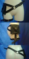 thigh holster purse by hostile-makeover
