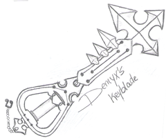 Demyx Keyblade by Wet-flamE
