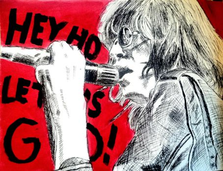 Joey Ramone by cici1000