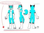 I'm making my first Fursuit!! by xXFluffehWolfXx