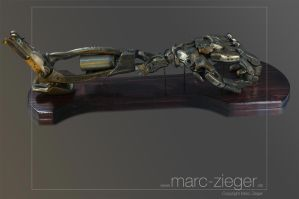 Cybernetic arm by MarcZieger
