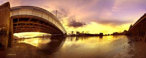 Wandsworth Bridge by hotonpictures